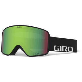 Giro Method Gafas, black wordmark/vivid emerald/vivid infrared